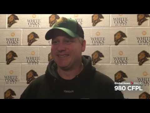 Rick Steadman on Game 3 vs Owen Sound