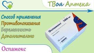 Оспамокс таблетки (амоксициліну тригідрат) свідчення, опис, відгуки