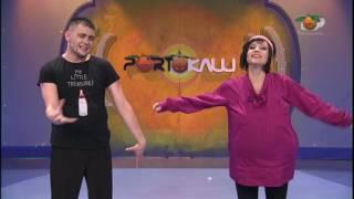Portokalli, 16 Maj 2010 - Komedia Pallati 176 Fredi, Elsa dhe Jozefina Topalli (Emri i femijes)