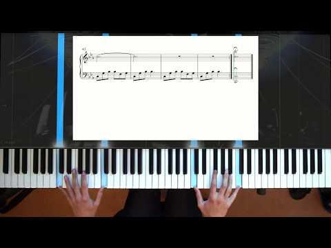 Final Fantasy VIII Blue Fields - Piano + Sheet music + Improv