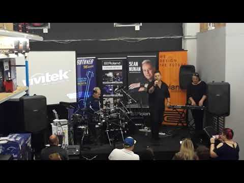 Music for the Masses 1st live performance, Bothners Claremont 02 09 2017
