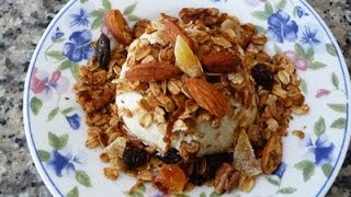 Healthy Granola Recipe Low Calorie, How To