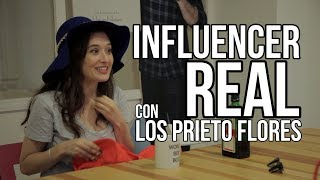 INFLUENCER REAL con Los Prieto Flores - Soy Una Chica Fitness | Living Postureo