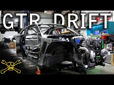 Nissan GTR Drift Car Build