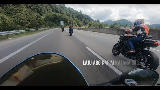 Aksi Mendebarkan Geng Superbike, Corner Baring, High-Speed, Close Call S1k vs Katana vs Gixxer vs R6