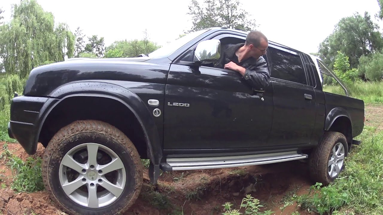 Mitsubishi L200 Offroad Approach And Departure Angles Neue Welle Fail Youtube