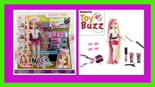 "Aly - Moxi Girlz ""unboxing"" Avery Magic Hair Stamp"