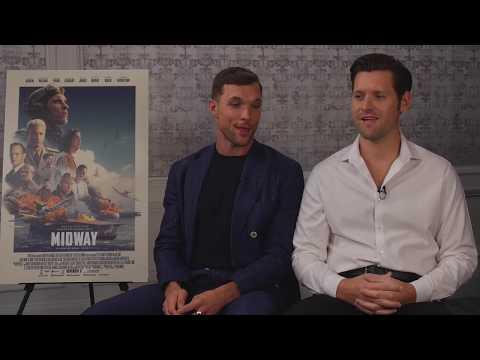 [Interview] 'MIDWAY' - Ed Skrein & Luke Kleintank