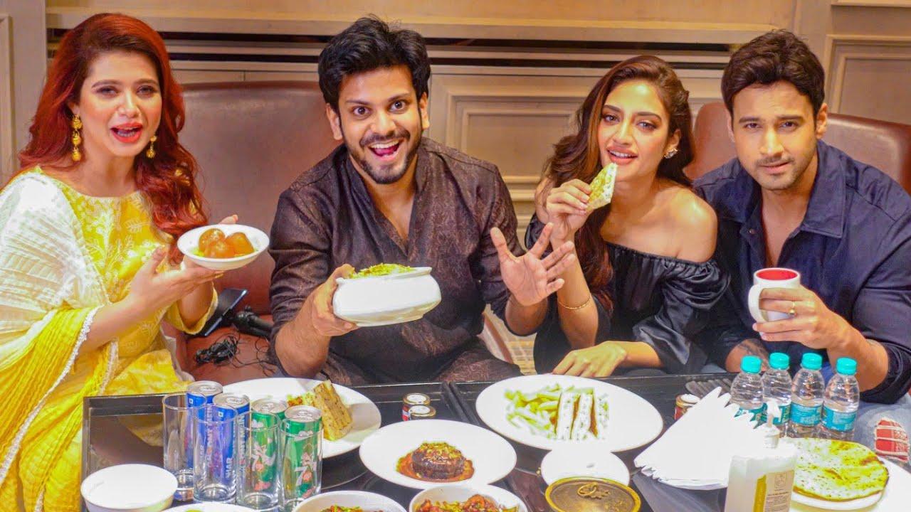 Dinner করলাম at JW Marriott with Nusrat Jahan, Yash Dasgupta and Ena Saha  🔥 - YouTube