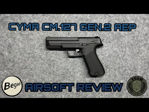 [REVIEW] CYMA CM.127 Gen.2  AEP LiPo und Mosfet by BEGADI