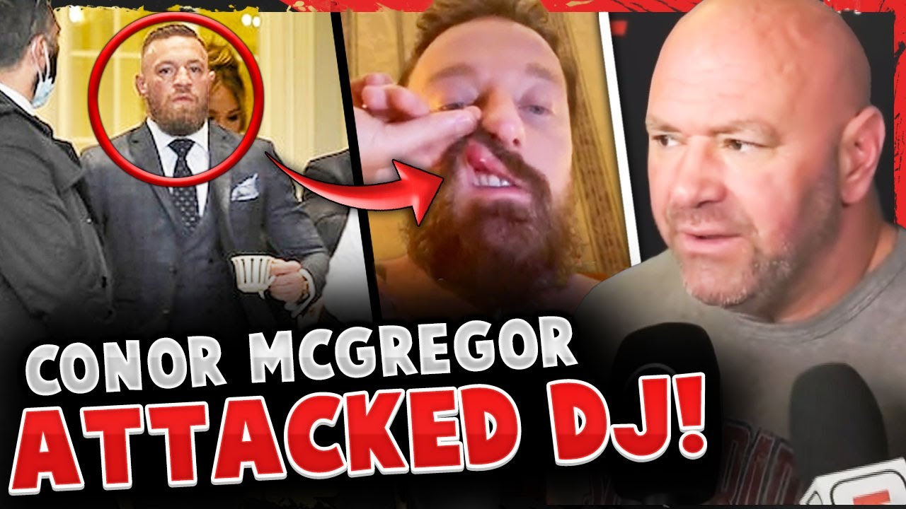 Conor McGregor allegedly ATTACKED a DJ & is being SUED! (FOOTAGE) DJ shows off injuries!