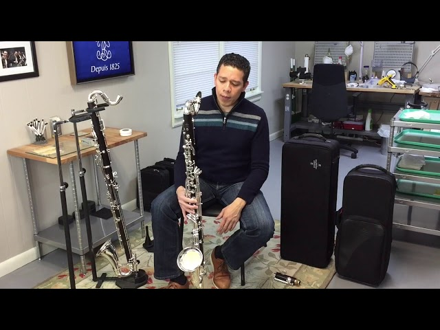 Prestige bass clarinet with removable low C extension