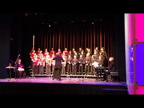 Vela Vela performed by Swanson Middle School Chorus