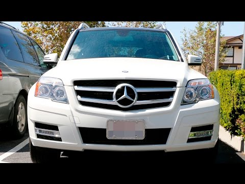 Mercedes Benz GLK Direct Fit LED Daytime Running Lights