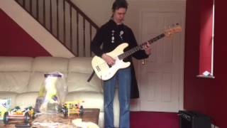 The jam beat surrender bass cover