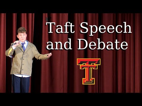 Taft Speech and Debate Show || June 2, 2017