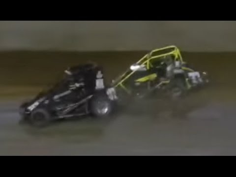 USAC Midgets - June 14, 2014 - Lawrenceburg Speedway - Feature