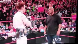Mike Tyson punks Sheamus