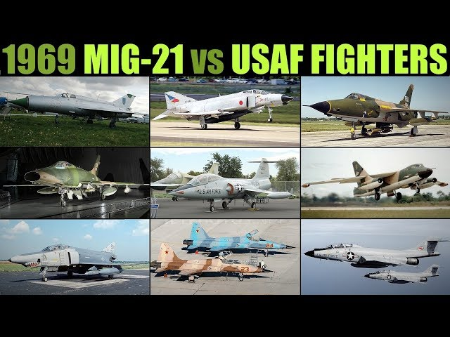 De-Classified 1969 Tactical Analysis: Mig-21 vs USAF/USN Fighters