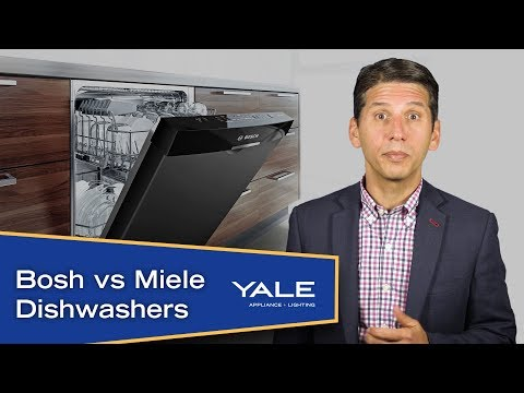 Miele vs Bosch Dishwashers Ratings/Review/Reliability