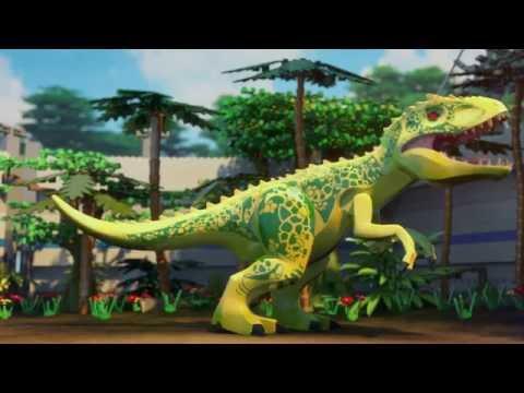 The Indominus Escape - LEGO Jurassic World Mini Movie - Part 3