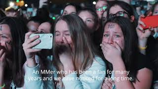 Marcus & Martinus - video to the fans before Moments Tour in Kristiansand