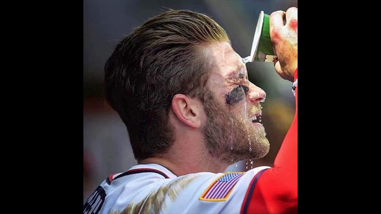 Bryce Harper Hairstyles Youtube