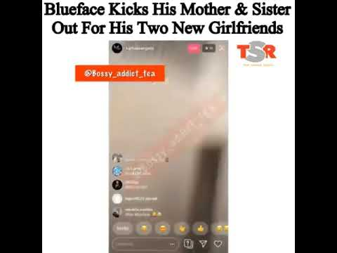 Download Blue Face the rapper kicks out his mother & sister 🙊 for his girlfriend and baby mama 👀 (must see)