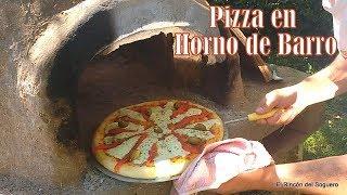 """Pizza en Horno de barro """"El Rincón del Soguero Cocina"""""""