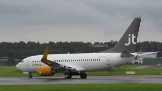 Jettime.....take off från Halmstad City Airport