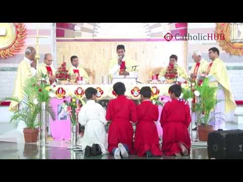 "Feast of ""St Theresa of child jesus"" celebrated at St.Theresa's Church, Sanathnagar.02-10-14.HD"