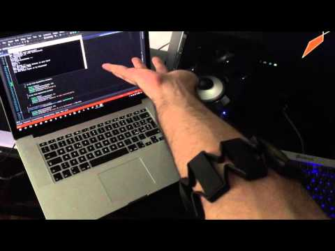 Developing Myo Gesture Control for audio