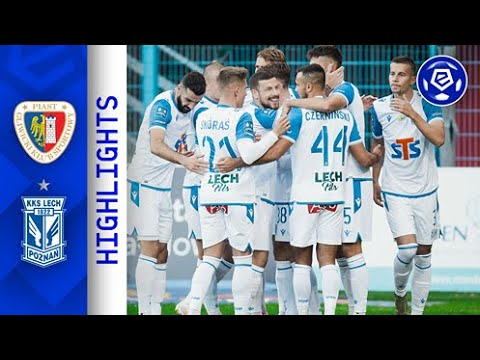 Piast Gliwice Lech Poznan Goals And Highlights
