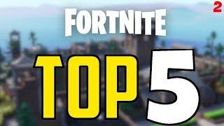 Fortnite: TOP 5 CREATIVE ISLANDS! (EPISODE 2)