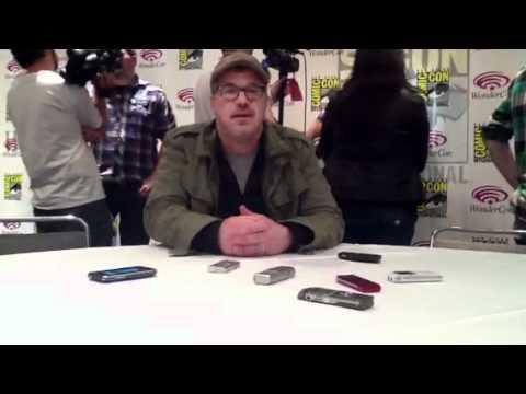 Alex Graves and Brannon Braga 'Terra Nova' Video Part 1