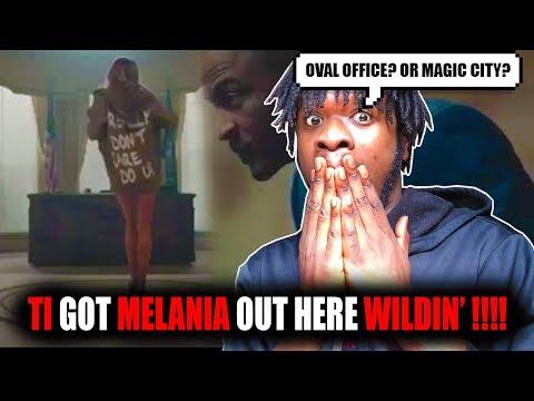 Melania Out Here Skrippin!? | TI - Melania Trump Video! (REACTION!)