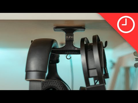 Elevation Lab Anchor Pro Headphone Mount Review: Cleaning up my studio desk