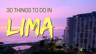 Lima is one of the most dynamic cities in South America and we're t...