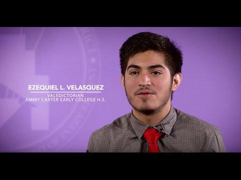 Jimmy Carter Early College High School, Ezequiel L. Velasquez!