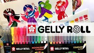 Gelly Roll + детские фломастеры из IKEA | Неоновые и матовые гелевые ручки