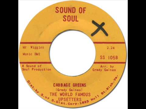 THE UPSETTERS with JIMI HENDRIX - Cabbage Greens [Sound Of Soul 105] 1966