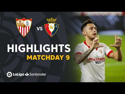Sevilla Osasuna Goals And Highlights