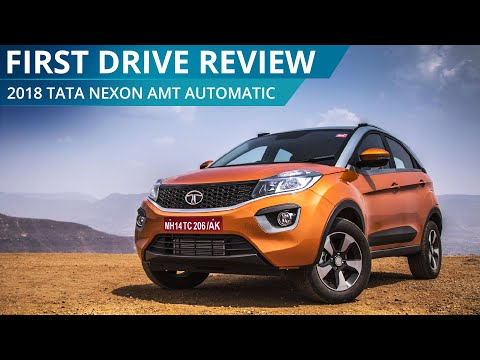 2018 Tata Nexon AMT Automatic | First Drive Review | CarWale