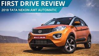 2018 Tata Nexon AMT Automatic   First Drive Review   CarWale