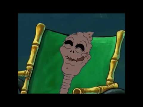 Humble by Kendrick Lamar but featuring the chocolate lady from spongebob