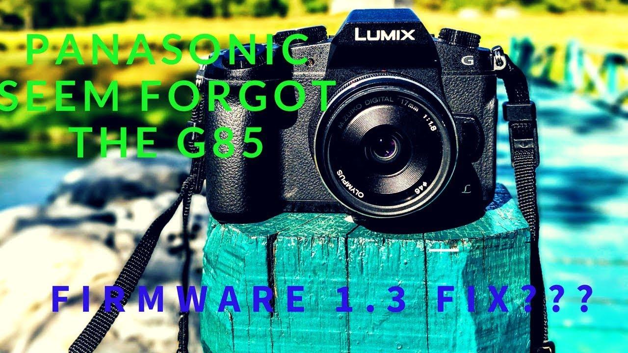 Panasonic G81 Firmware