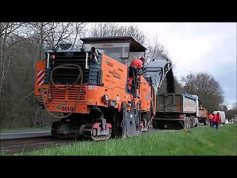 Balayeuse Brock SL 410 2 K Jumbo S et Val'Air BH 9 / Road Sweeper, Kehrmaschine, Rabotage Routier