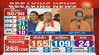 Maharashtra Results: बहुमत के बाद Shivsena प्रमुख Uddhav Thackeray ने क्या कहा, सुनिए