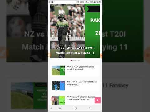 NZ VS PAK Dream11 Prediction 1st T20I | Today Match Prediction