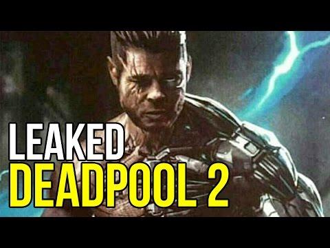 Deadpool 2 Brad Pitt Cable Concept Art